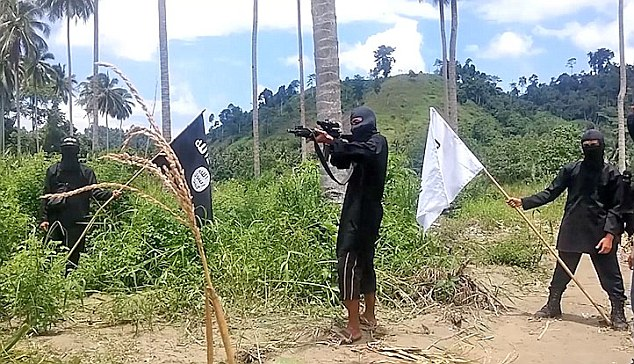 Abu Sayyaf in the Philippines' southern provinces