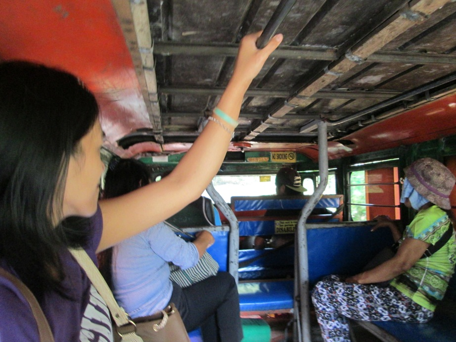 RINJ Medical Crew Traveling in a Jeepney
