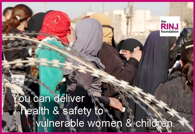 Be a warrior. Deliver safety to vulnerable women. Deliver safety to vulnerable women and children.