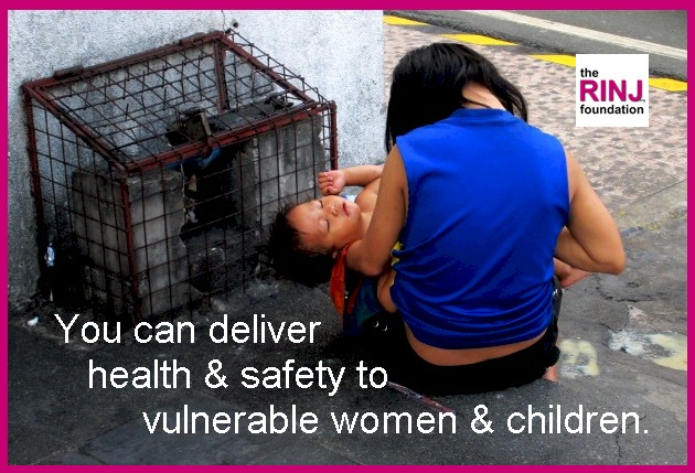 You can deliver safety to vulnerable women & kids.